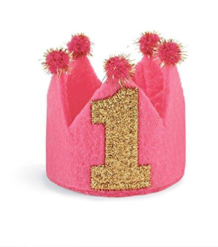 Mud Pie Baby-Girls Infant 1st Birthday Crown Headband, Multi, One Size (Mud Pie Baby Girl 1st Birthday compare prices)