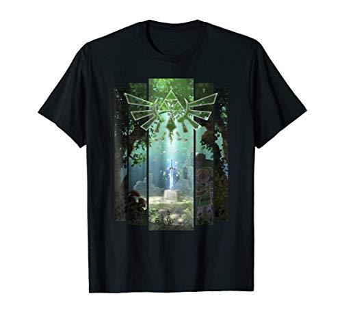 Nintendo Zelda The Master Sword Lost Woods Artwork T-Shirt