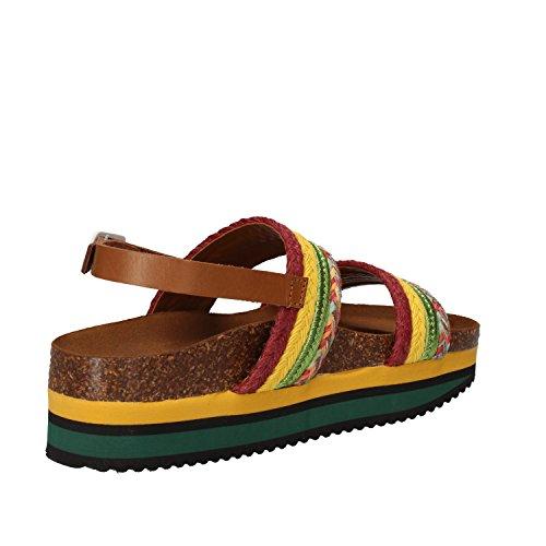 5 PRO JECT Mujer zapatos con correa Giallo/Verde