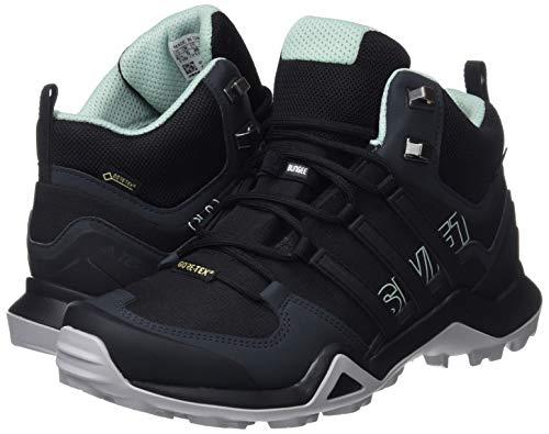 vercen Basses negbas Mid De W 000 Noir negbas Swift Terrex Adidas Chaussures Randonne Femme R2 Gtx 1AB6wqz