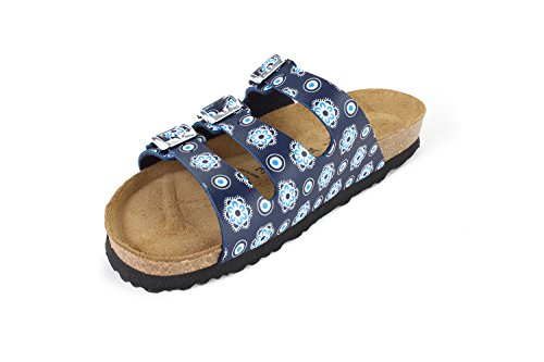 Sandals Paris Softbedded SynSoft N JOYCE Cork JOE Slippers Women Bloomsblue atCpwCq