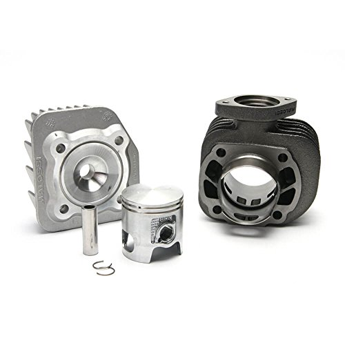 Malossi Cylinder Kit (72 cc, Cast Iron, 2T, AC); Kymco