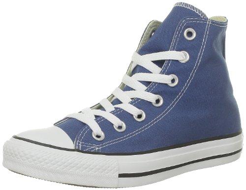 Converse All Star Hi - Zapatillas abotinadas Unisex adulto Bleu (Bleu Foncé)
