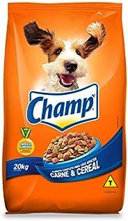 Ração CHAMP Carne e Cereal Para Cães Adultos 20 kg