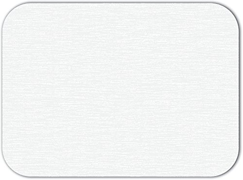 - Dinex DX5999P00102 Paper White Embossed Solid Color Tray Cover with Scalloped Edge/Round Corner, 20