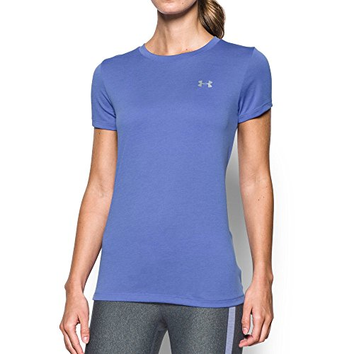 Under Armour Women's Tech SSC Mevo Tee, Violet Storm, Small