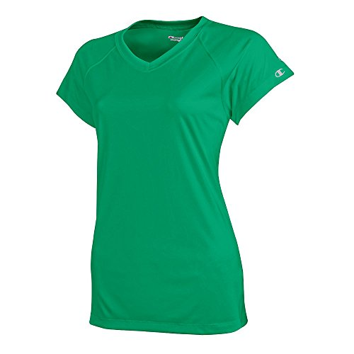xx neck D kelly Champion Da neck Green Essential Tee large V Donna v11q5wxp7