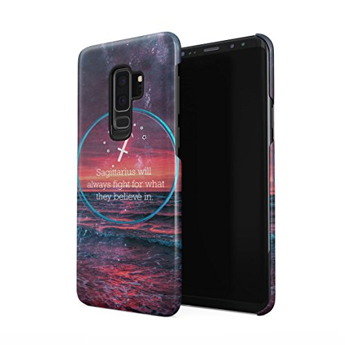 - Zodiac Sagittarius Will Always Fight for What They Believe in Hard Plastic Phone Case for Samsung Galaxy S9 Plus
