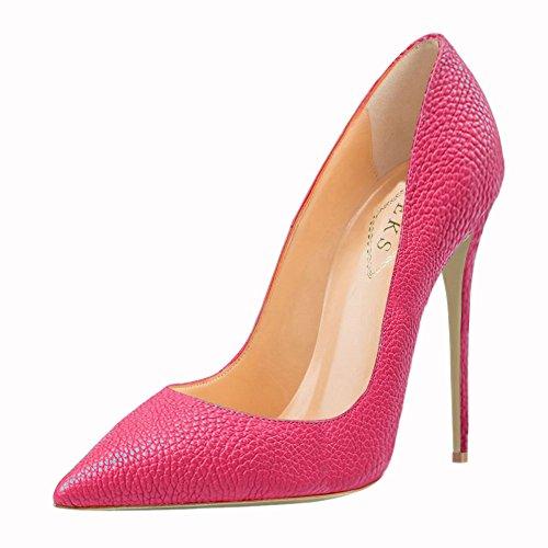 EKS - Zapatos de vestir de Material Sintético para mujer Rose