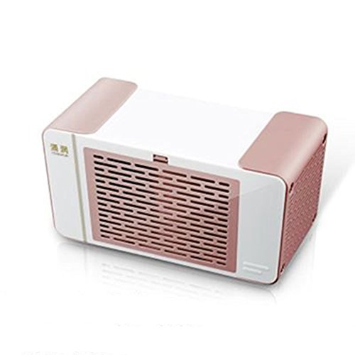 SJBDGGJ Mini portable air conditioner fan,Small desktop fan For office,Dorm,Nightstand Usb White 2 free ice crystals-B by SJBDGGJ