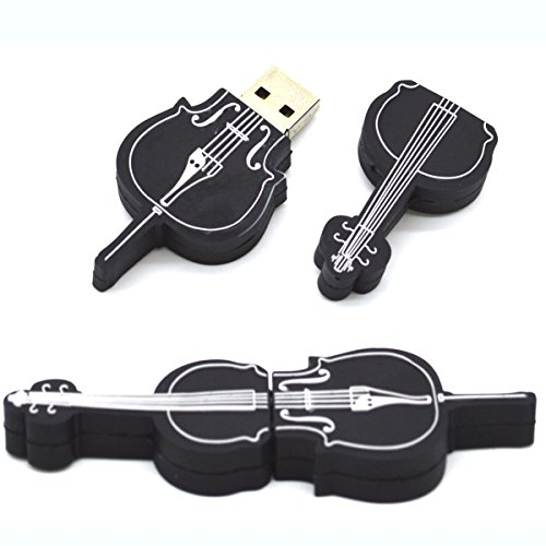 Tomax Bass Cello Kontrabass als USB Stick mit 8 GB USB Speicherstick Flash Drive