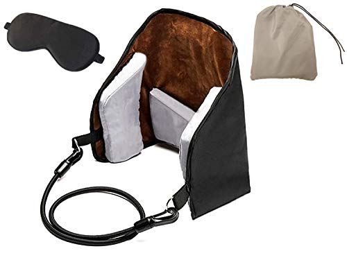 Oxford Cloth Hammock for Neck Pain - Headache Relief Neck Massager Bundle | Best Neck Cradle and Cervical Traction Device for Pain Relief | Portable Neck Sling for Office Workers and Athletes