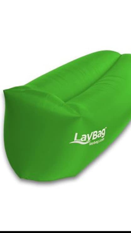 Amazon.com: Durable laybag Lounge de aire inflable, Verde ...
