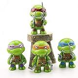 ELSANI 4pcs Teenage Ninja Turtles Themed Cake