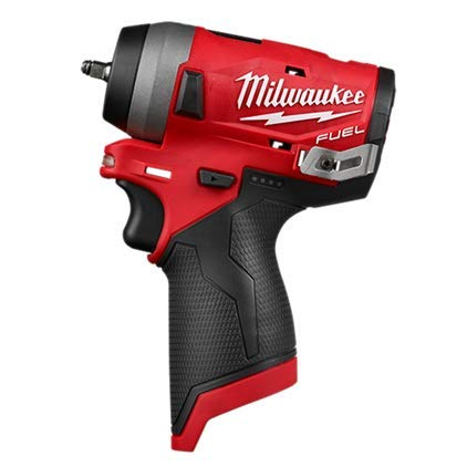 Milwaukee 2552-20 M12 FUEL 1/4' Cordless Stubby Impact Wrench (Bare Tool Only)