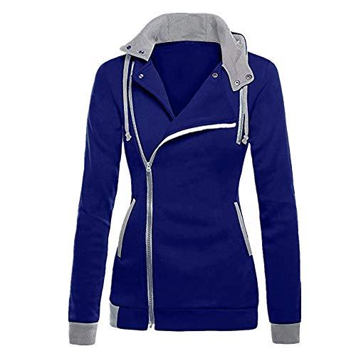 Women Jacket Sale,KIKOY Long Sleeve Plus Velvet Hooded Sweater Zipper Chic Coat ()