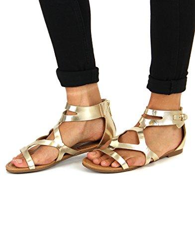 Strappy Sandals- BRECKELLES 8LZOV