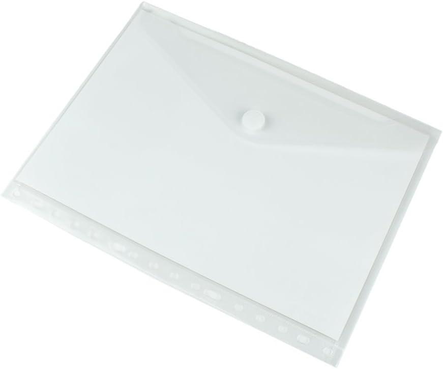 Pryse 4170201 - Sobre portadocumentos A4, Transparente