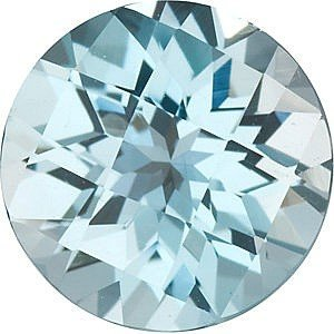 Round Shape Checkerboard Sky Blue Topaz Gemstone Grade AAA, 8.00 mm in Size, 2.5 (Carats Round Checkerboard Shape)