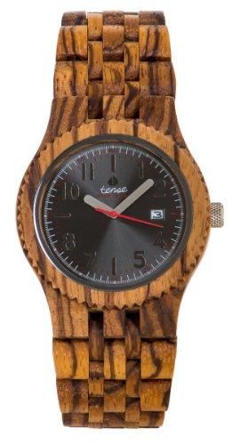 Tense Yukon Watch Zebrawood One Size