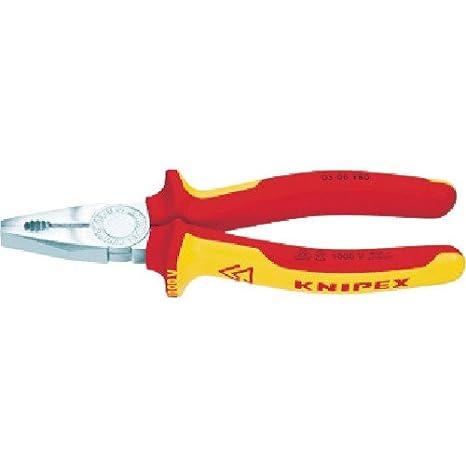 Knipex Alicate Universal VDE 03 06 160, 160 mm: Amazon.es: Bricolaje y herramientas