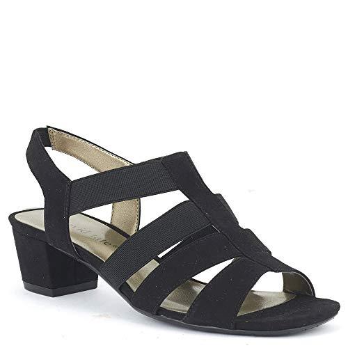 David Tate Delight Women's Sandal 8 C/D US Black