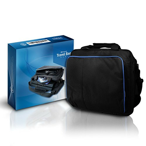 Price comparison product image Stargoods PS4 Travel Bag - Videogame Console System & Controllers Carrying Case