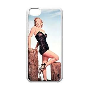 C-EUR Print Marilyn Monroe Pattern Hard Case for iPhone 5C