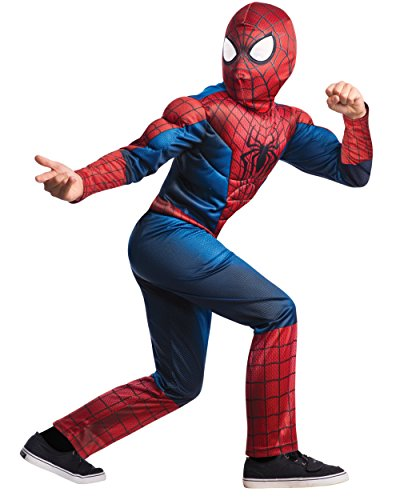 Rubie's Marvel Comics Collection, Amazing Spider-man 2, Deluxe Spider-man Costume, Child Large - Child Large One - King Deluxe Witch