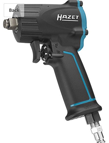 HAZET 9012M 1100 N m X-Short Maximum Loosening Torque Jumbo Hammer Striking Mechanism Impact Wrench - Multi-Colour by Hazet