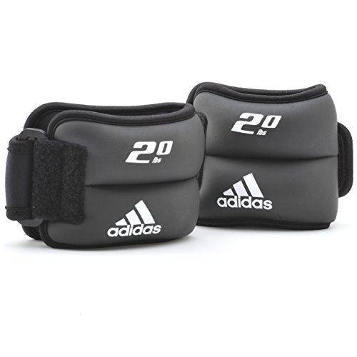 adidas Ankle/Wrist Weights, 2 x 2 lb.