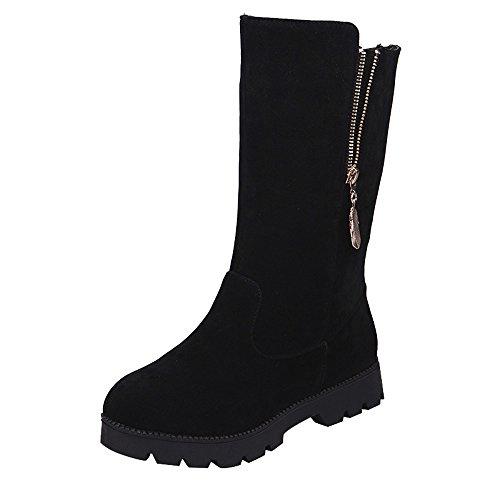 Martin Boots Faux Boucle Chevalier Femme Bottines pour Femmes Chaussures Dames Femme Chaud Bottes Yesmile Madam Plat n7WRRcBv