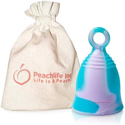 Mini Menstrual Alternative PURPLESWIRLCUP Peachlife product image