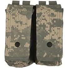 Fox Outdoor Products AR-15/AK-47 Dual Mag Pouch Terrain Digital