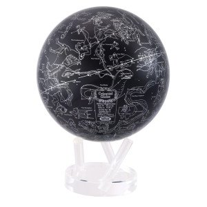 8.5'' Silver and Blue Constellations MOVA Globe