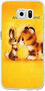 Galaxy S6 Case,Dseason Samsung Galaxy S6 Hard Case **NEW** High Quality Unique Design Protective and made a friend