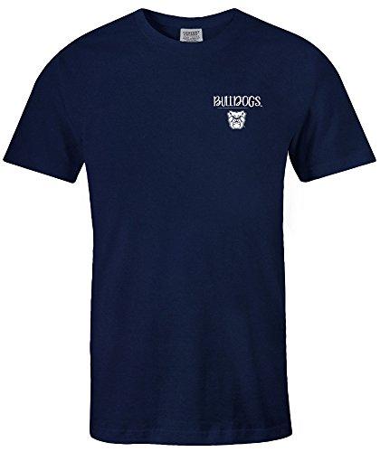 NCAA Butler Bulldogs Adult NCAA Sketchbook Comfort Color Short sleeve T-Shirt, XX-Large,Denim