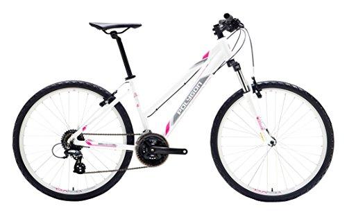 PolygonBikes Premier 2 W Hybrid Bicycle, PearlWhite/Pink, 16″/Medium Special Price
