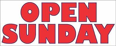 Open Sunday Banner