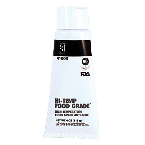 HI-Temp Food Grade 41003 Anti-Seize Compound, 4 oz, White, Paste ()