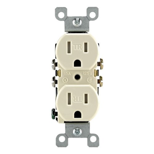 Leviton Resistant Receptacle Residential Grounding