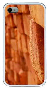 iPhone 4S/4 Case Cover - Stonewall photography TPU Polycarbonate Hard Case Back Cover for iPhone 4S and iPhone 4 - White