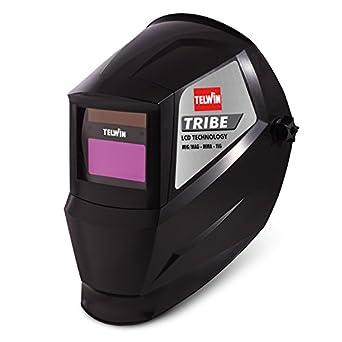 Telwin 802837 Tribe Máscara automática para soldadura MIG-MAG/TIG y MMA.