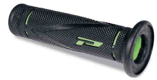 Pro Grip 838 X-Slim Road and Trail Grips Black/Green PA083800VE02