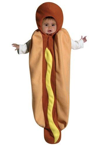 Rasta Imposta Hot Dog Bunting, Multi, 3-9 Months (Dog Costumes For Kids)