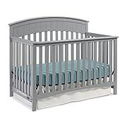 Graco Charleston Convertible Crib, Pebble Gray