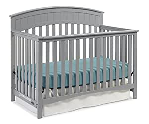 Amazon Com Graco Charleston Convertible Crib Pebble Gray