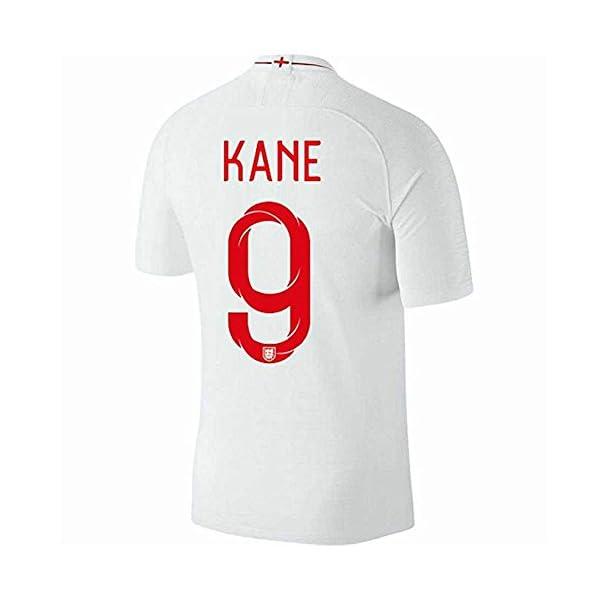 80b2e5699a9 taotao Kane  9 England 2018 National Team Men Soccer Jerseys Color White ⋆  soccerstylenow