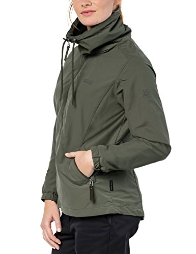 Resistant Proof Jacket Wolfskin ladies Westwood Woodland Jack Womens Green Vento Water wnX6Tf0Rq