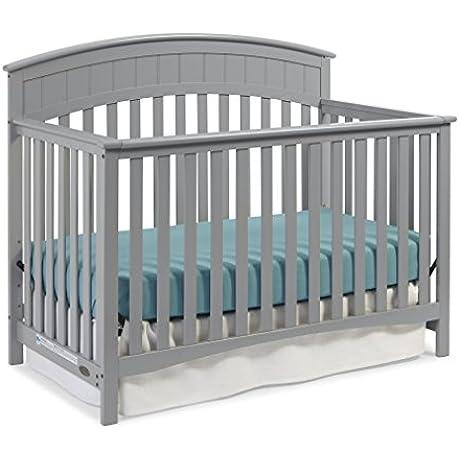 Graco Charleston Convertible Crib Pebble Gray